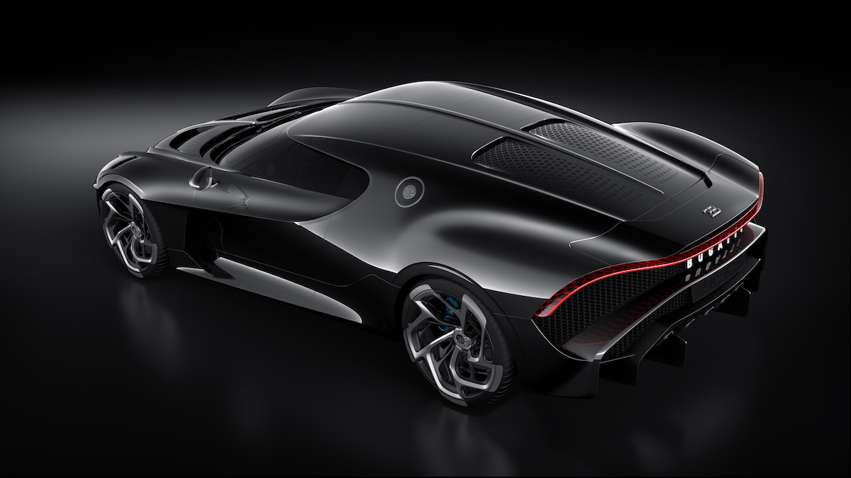Cristiano Ronaldo hat heimlich das teuerste Auto der Welt gekauft: Einen Bugatti La Voiture Noire für 12,5 Millionen US-Dollar 13