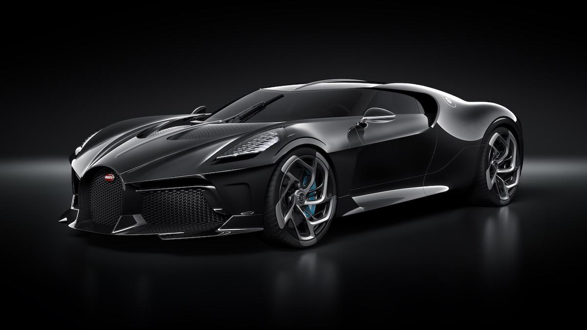 Cristiano Ronaldo hat heimlich das teuerste Auto der Welt gekauft: Einen Bugatti La Voiture Noire für 12,5 Millionen US-Dollar 1