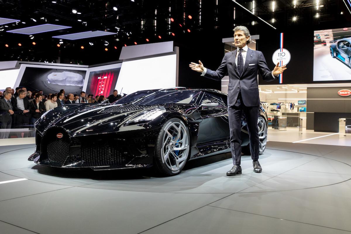 Cristiano Ronaldo hat heimlich das teuerste Auto der Welt gekauft: Einen Bugatti La Voiture Noire für 12,5 Millionen US-Dollar 7