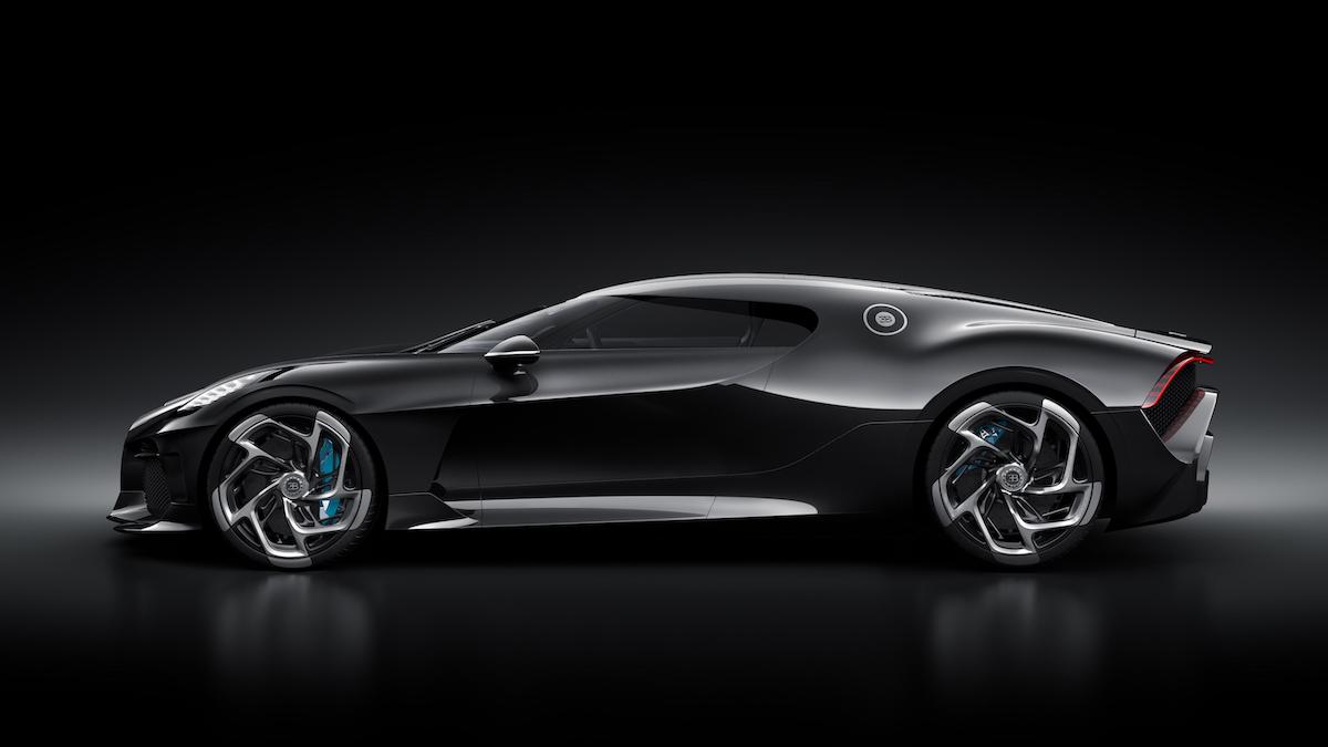 Cristiano Ronaldo hat heimlich das teuerste Auto der Welt gekauft: Einen Bugatti La Voiture Noire für 12,5 Millionen US-Dollar 4