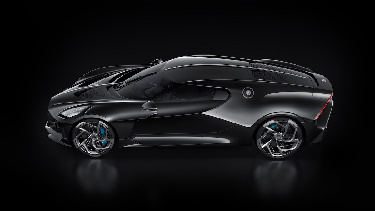 Cristiano Ronaldo hat heimlich das teuerste Auto der Welt gekauft: Einen Bugatti La Voiture Noire für 12,5 Millionen US-Dollar 2