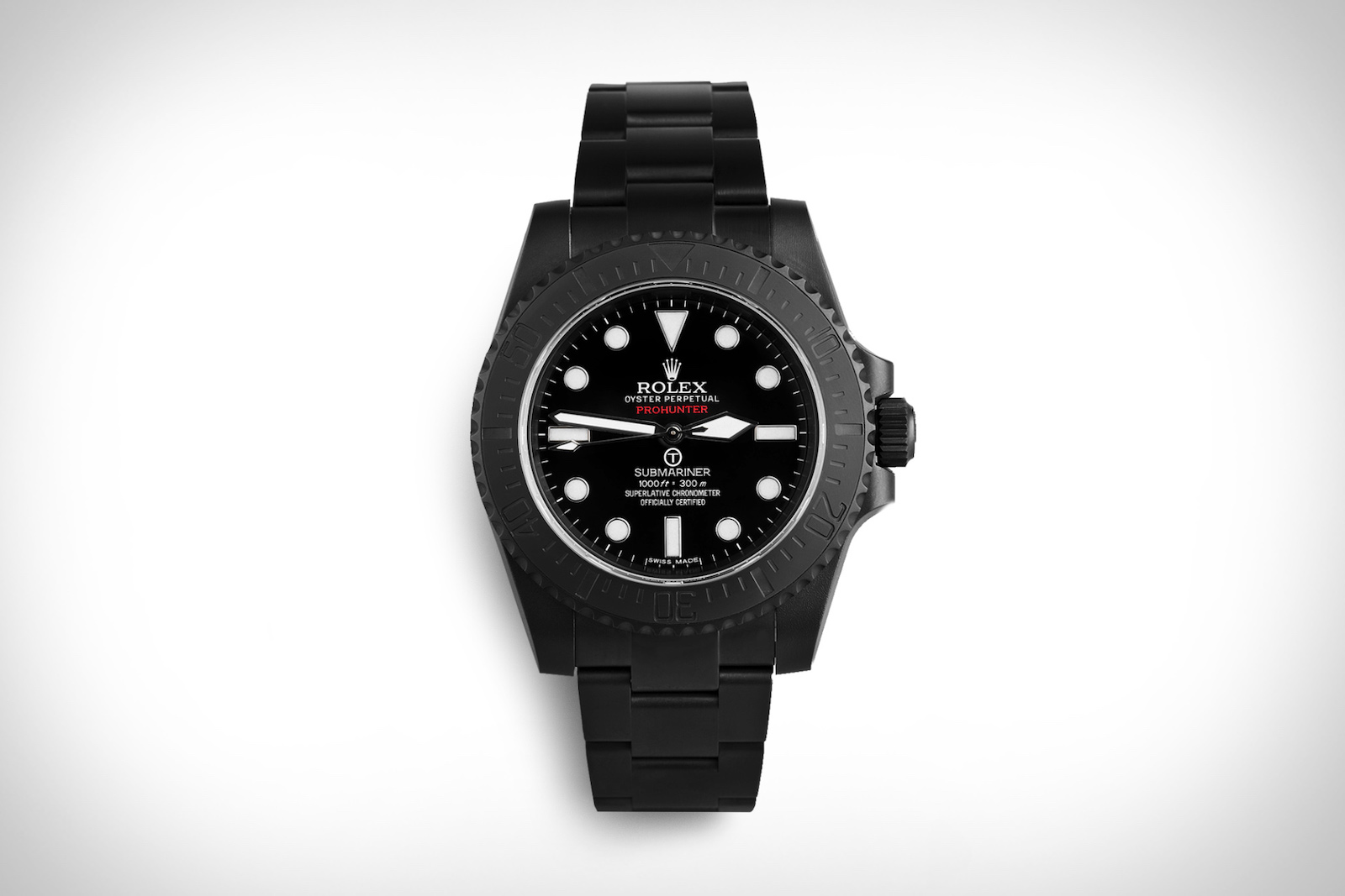Limited to Only 100 Pieces: The Pro Hunter Rolex Submariner Military Watch 1