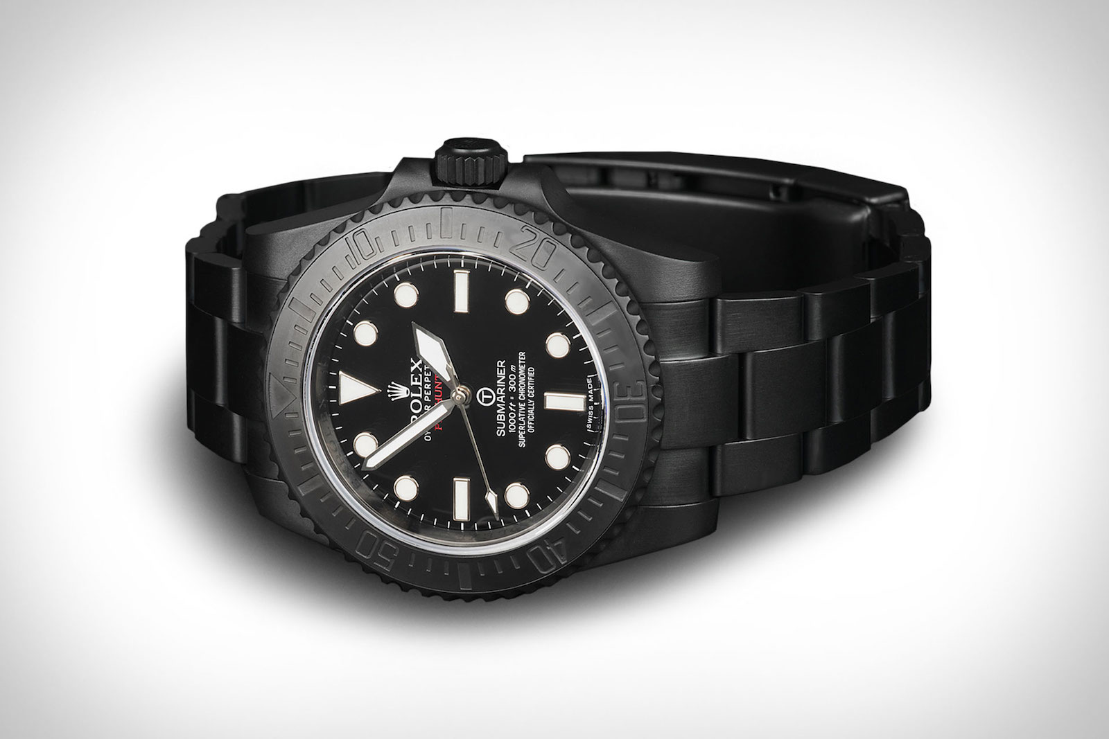 Limited to Only 100 Pieces: The Pro Hunter Rolex Submariner Military Watch 2
