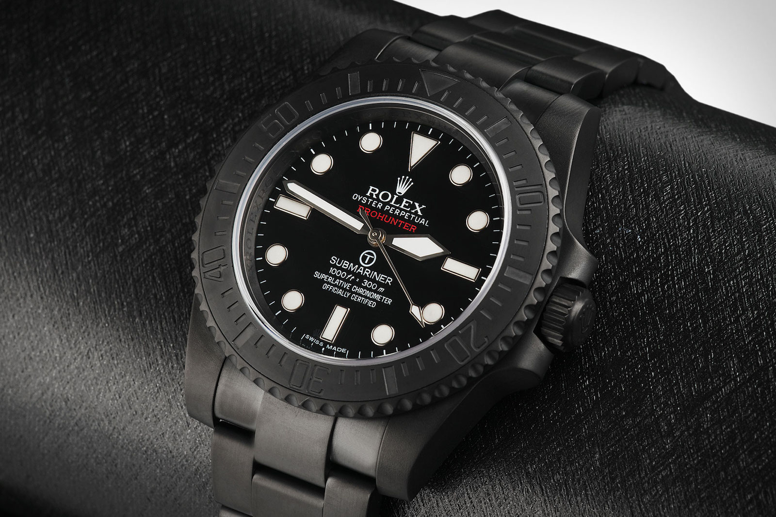 Limited to Only 100 Pieces: The Pro Hunter Rolex Submariner Military Watch 3