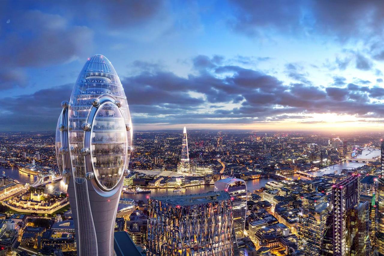 London plant eine neue Attraktion: The Tulip 4