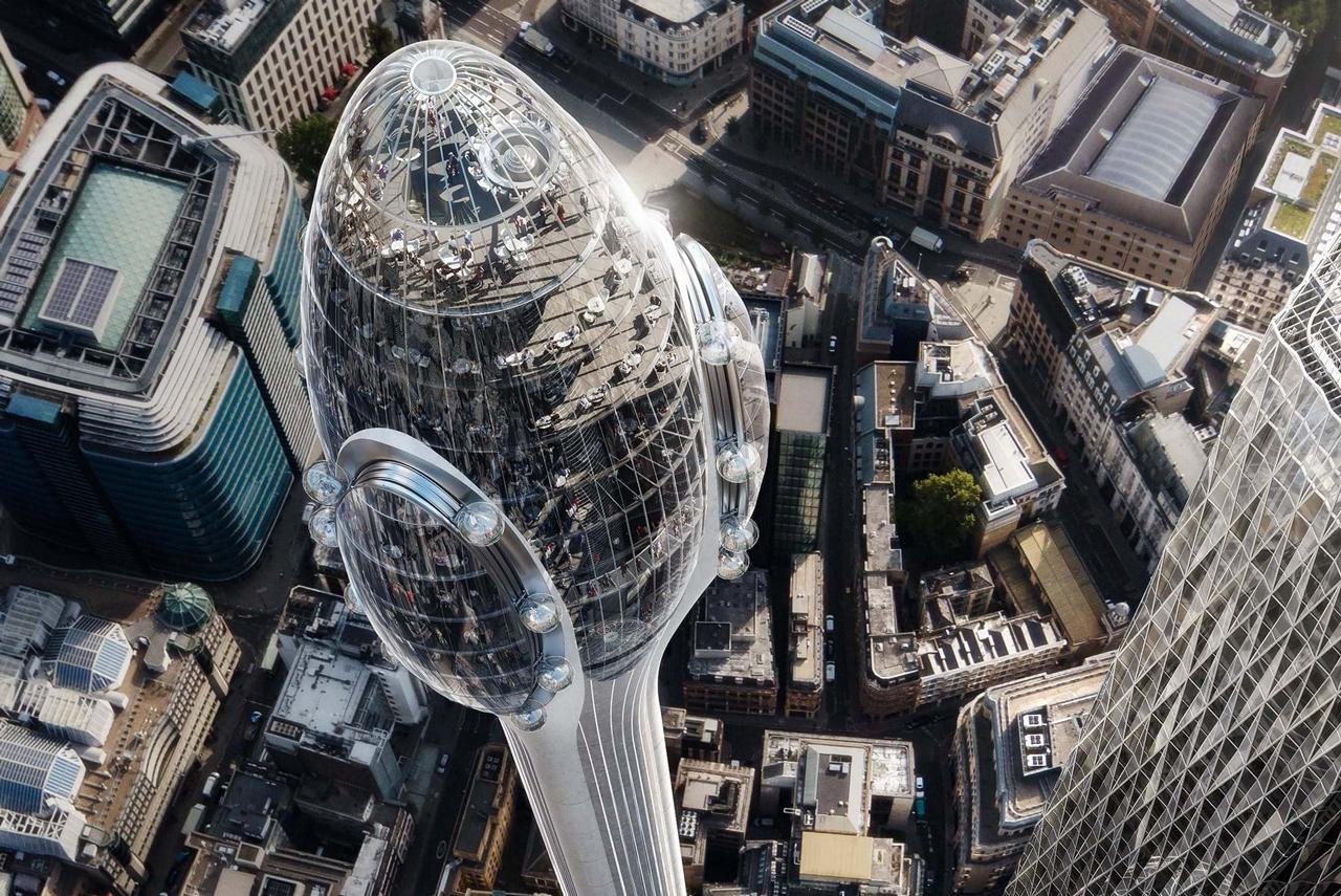 London plant eine neue Attraktion: The Tulip 3