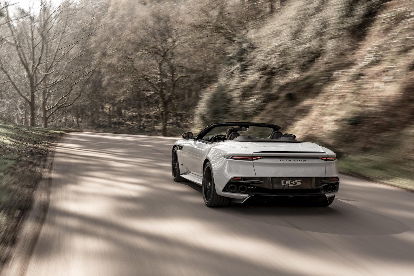 Aston Martin DBS Superleggera Volante: Ein Supersport-Cabrio mit 725 PS 11
