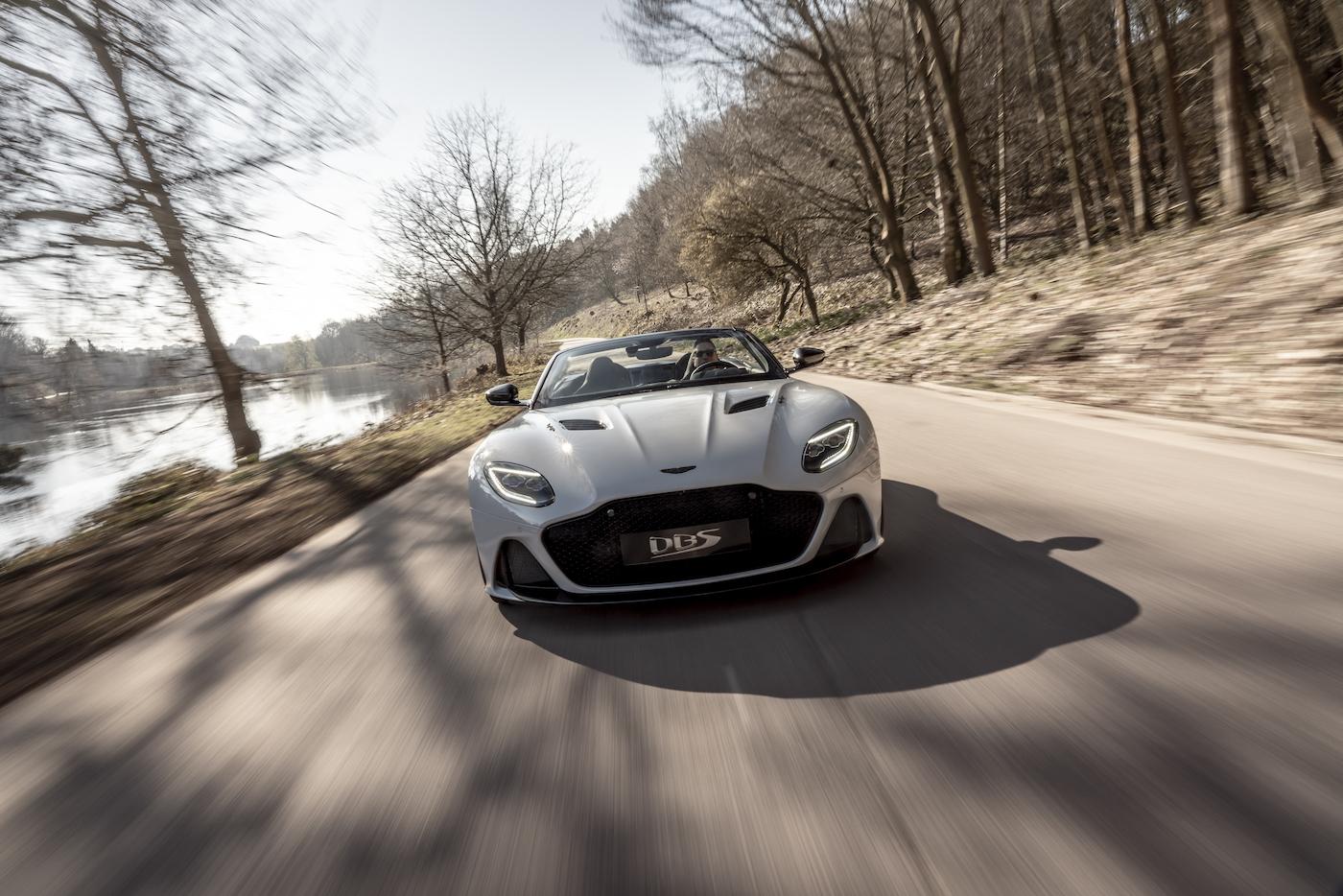 Aston Martin DBS Superleggera Volante: Ein Supersport-Cabrio mit 725 PS 3