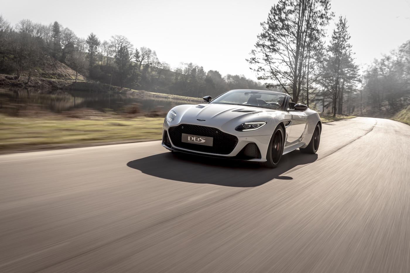 Aston Martin DBS Superleggera Volante: Ein Supersport-Cabrio mit 725 PS 9
