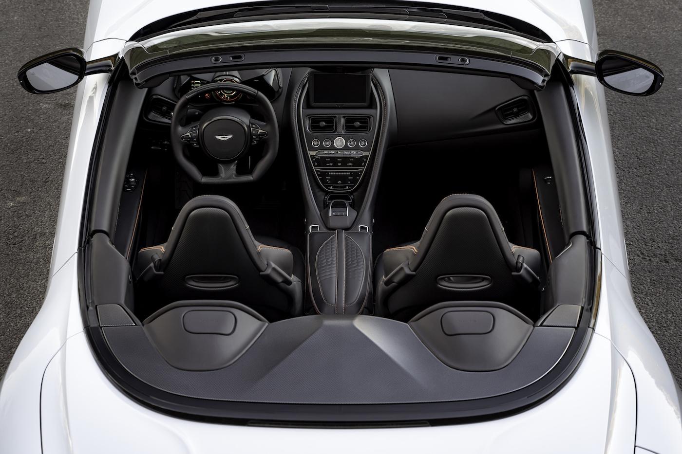 Aston Martin DBS Superleggera Volante: Ein Supersport-Cabrio mit 725 PS 10