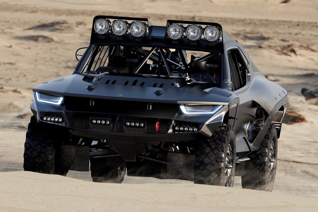 Mad Max reloaded: Der Desert Storm Trophy Truck 2