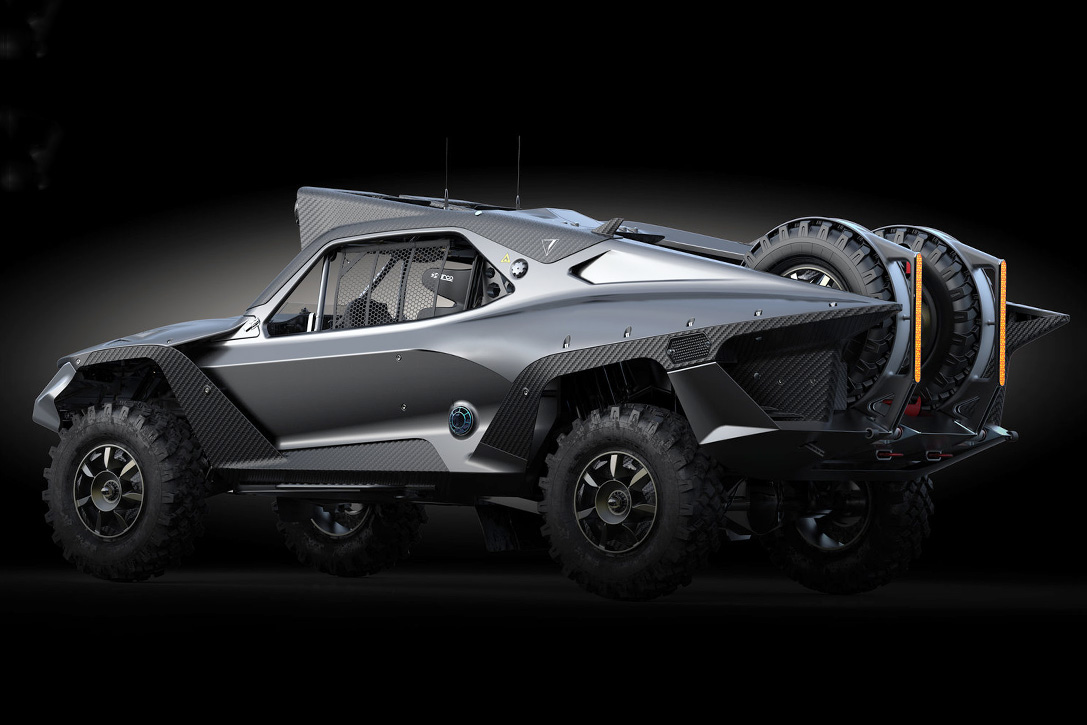Mad Max reloaded: Der Desert Storm Trophy Truck 4
