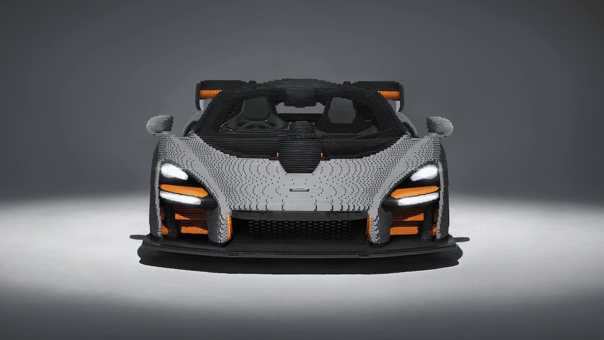 Lego baut einen McLaren Senna aus Legosteinen nach 4