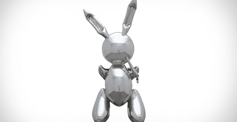 """""""Rabbit"""" von Jeff Koons: Das vielleicht teuerste Kunstwerk der Welt"""