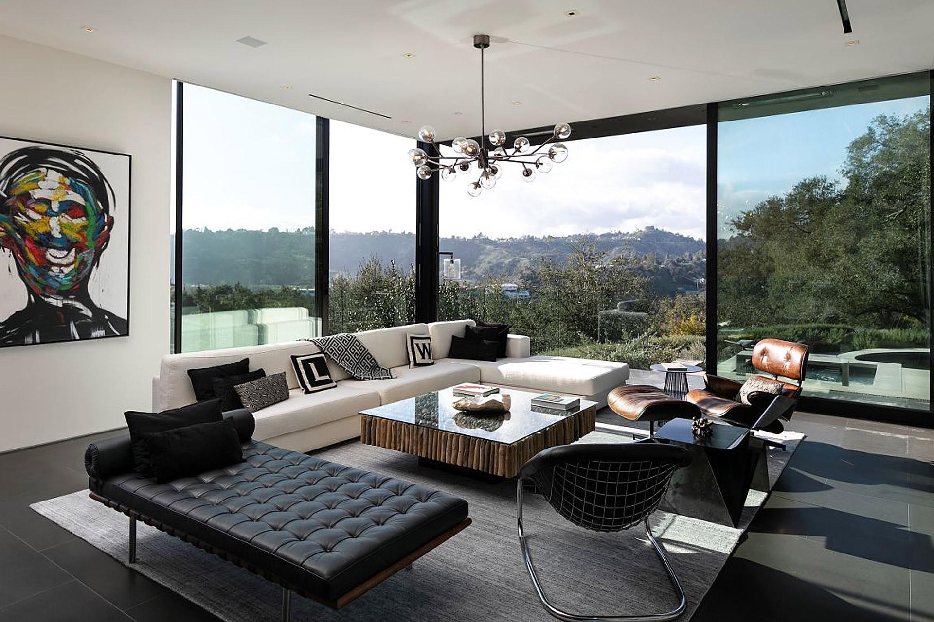 """Eingebettet in die Natur von Beverly Hills: Das """"Oak Pass House"""" 8"""
