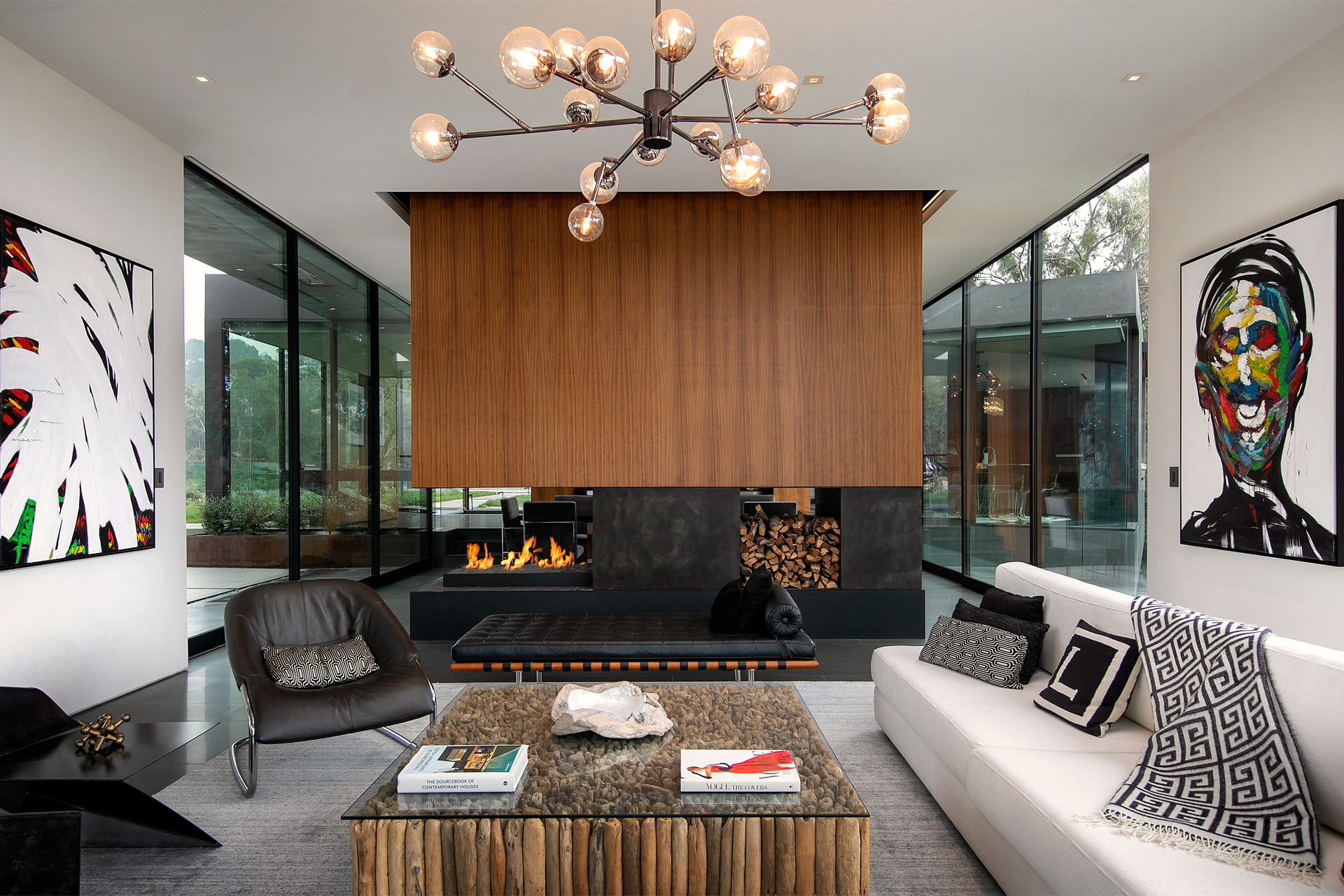 """Eingebettet in die Natur von Beverly Hills: Das """"Oak Pass House"""" 7"""