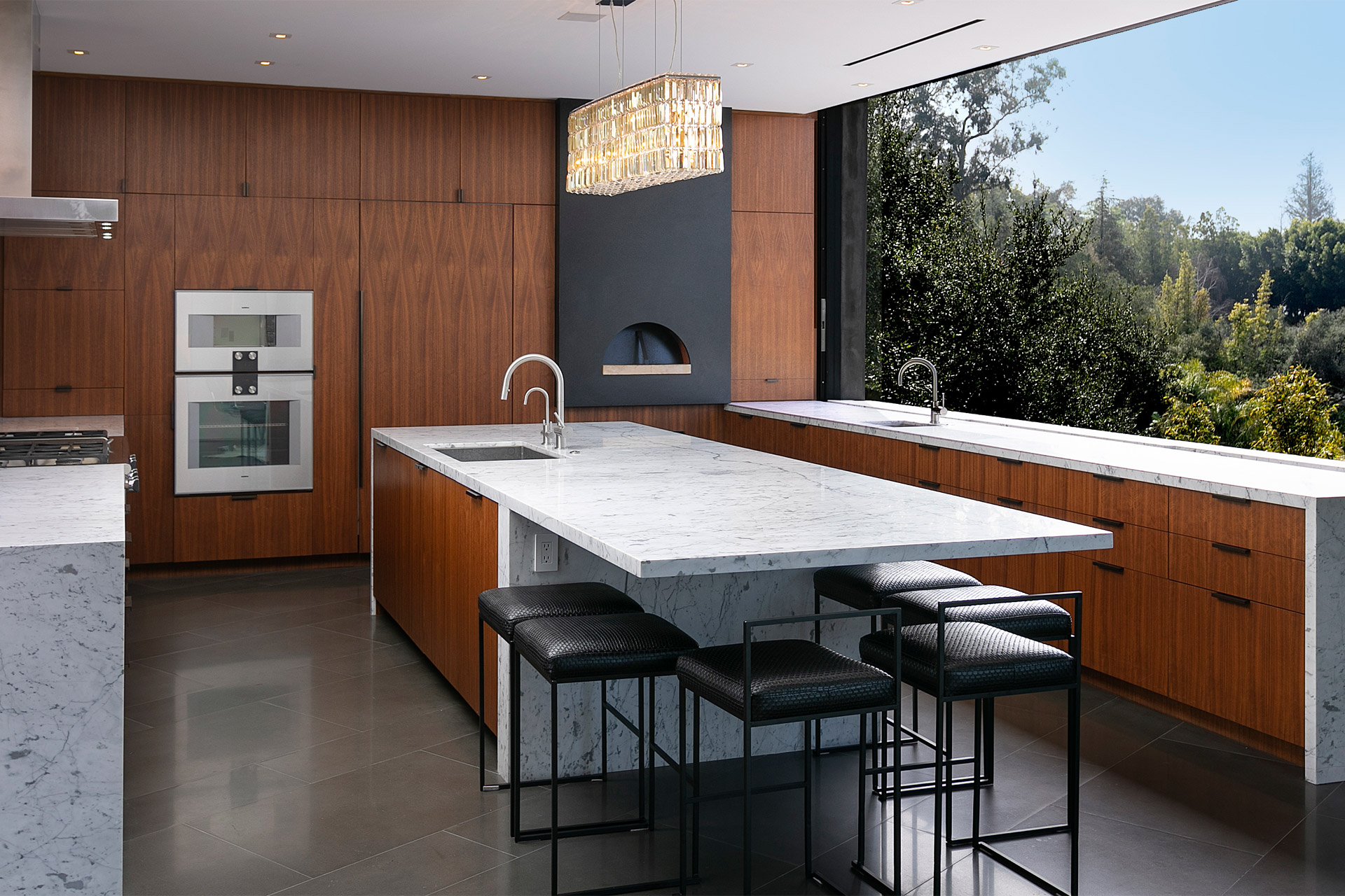 """Eingebettet in die Natur von Beverly Hills: Das """"Oak Pass House"""" 6"""