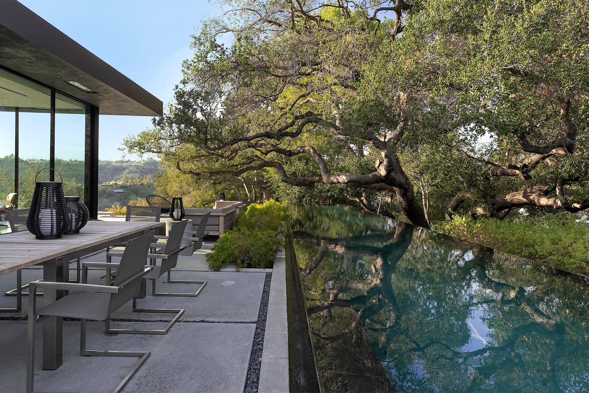 """Eingebettet in die Natur von Beverly Hills: Das """"Oak Pass House"""" 2"""