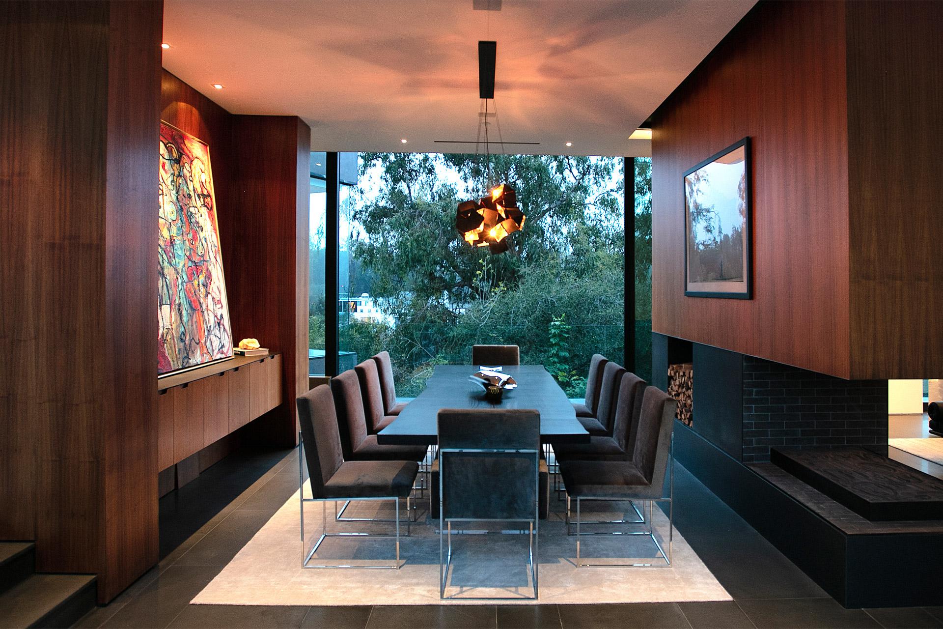 """Eingebettet in die Natur von Beverly Hills: Das """"Oak Pass House"""" 5"""
