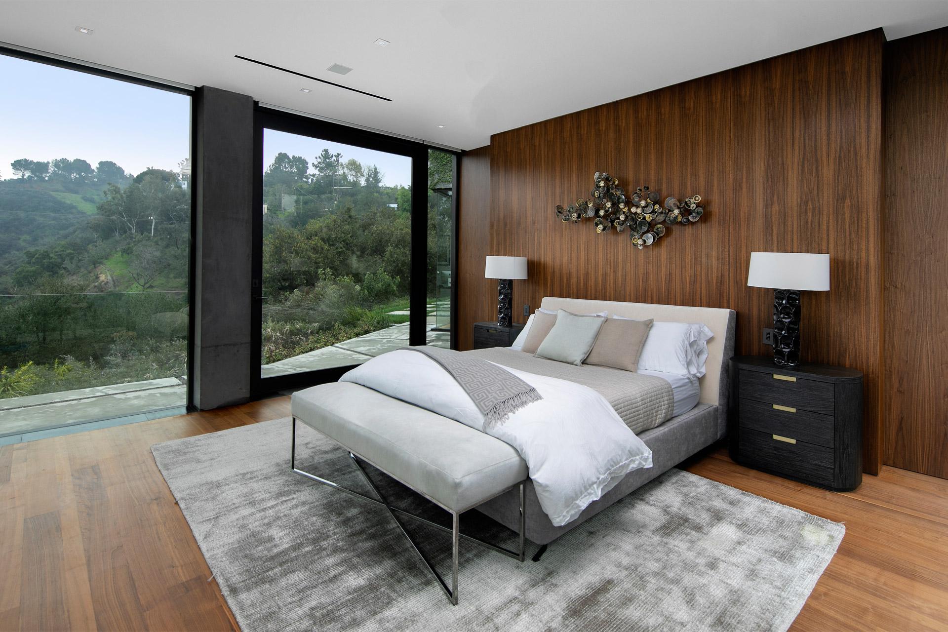 """Eingebettet in die Natur von Beverly Hills: Das """"Oak Pass House"""" 4"""