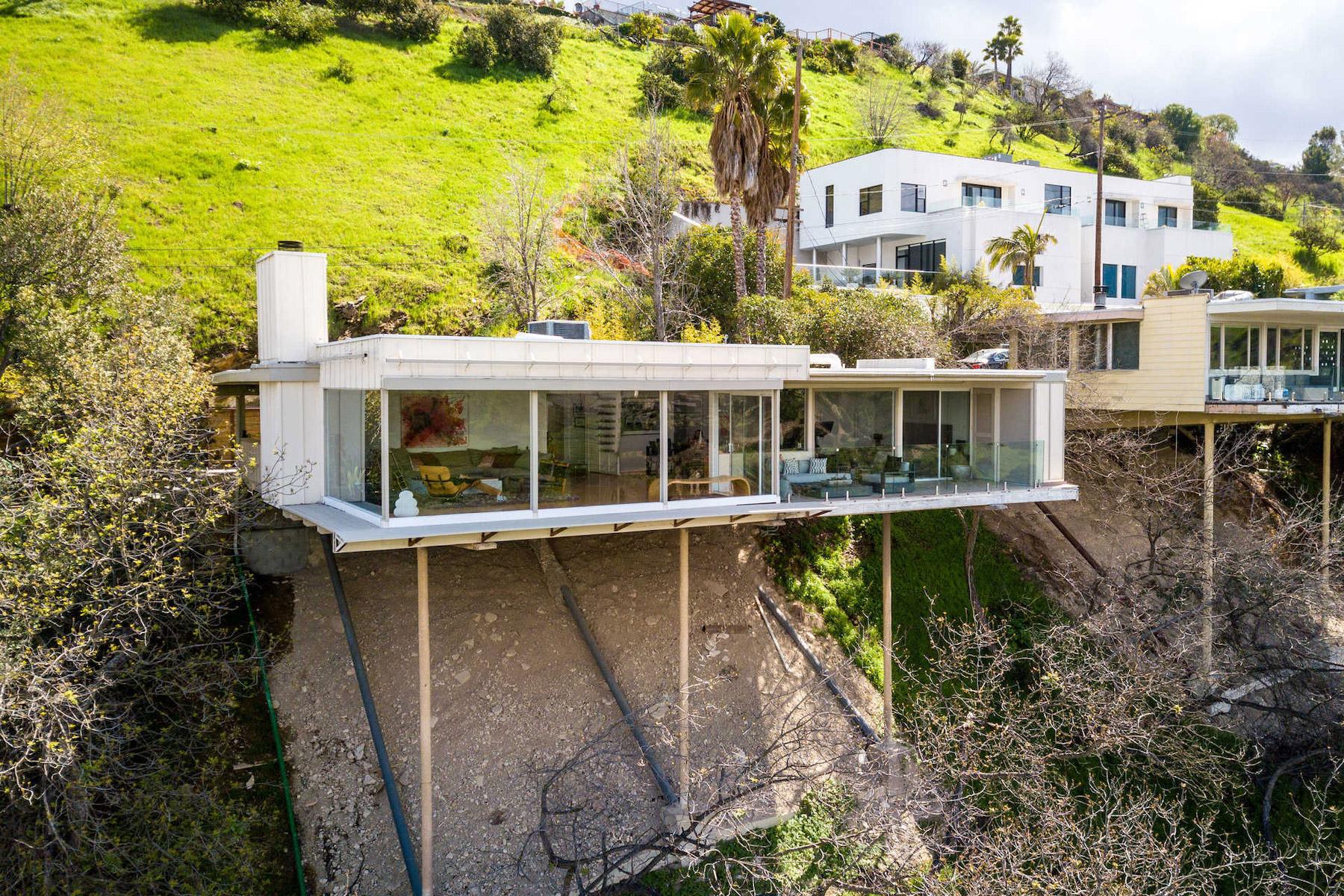 Das aussergewöhnliche Stilt House von Richard Neutra in Kalifornien 1