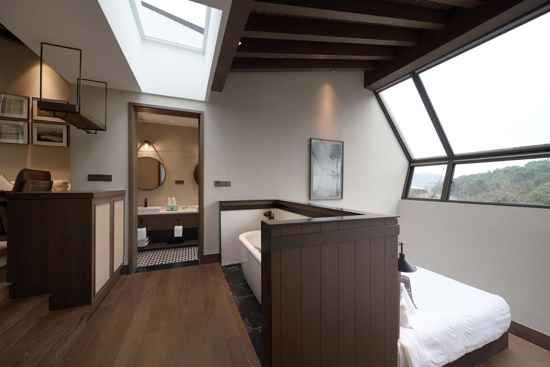 Übernachten im chinesischen Wald: Das Senbo Resort Park-Star Cube Hotel 4