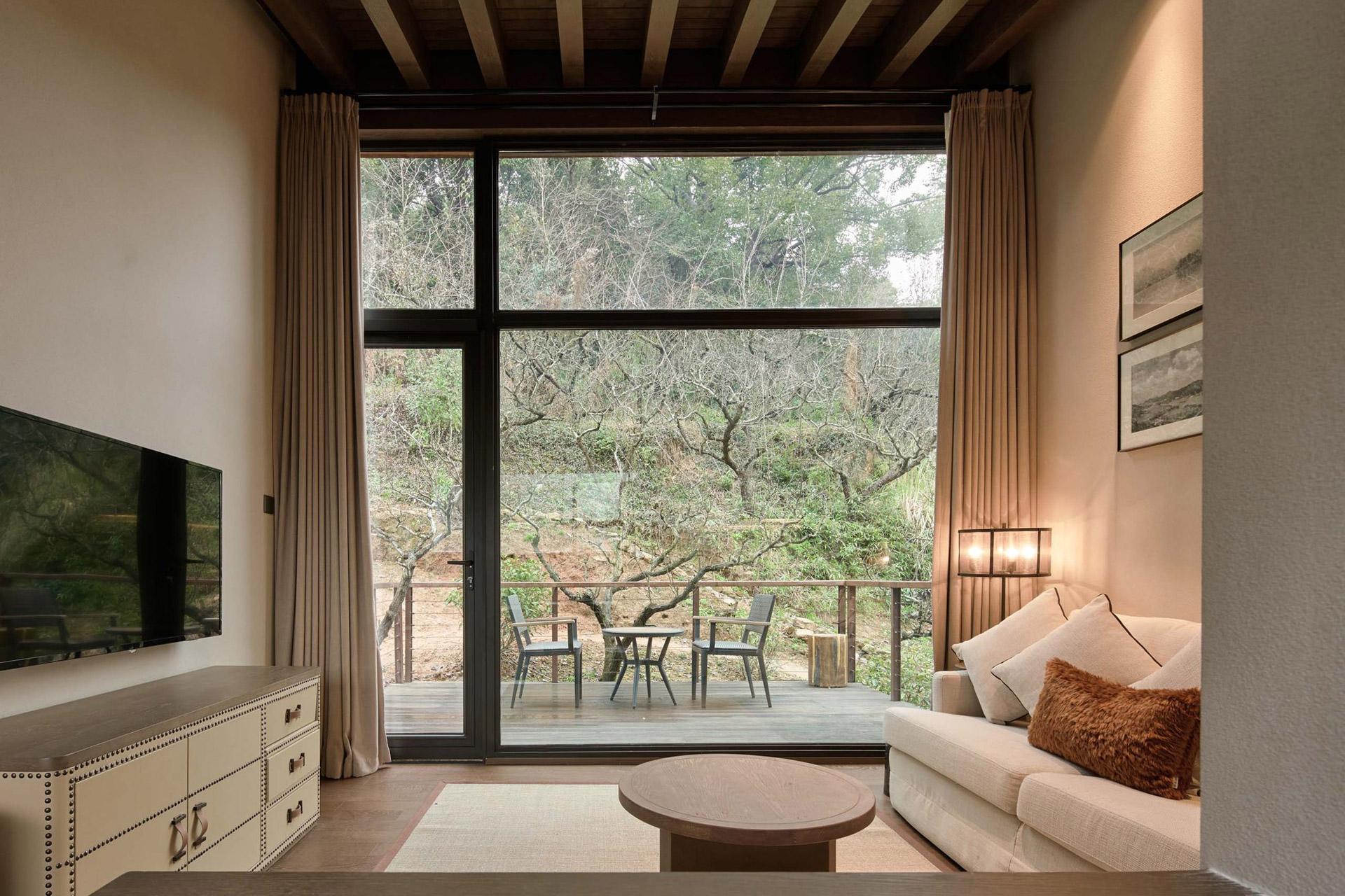 Übernachten im chinesischen Wald: Das Senbo Resort Park-Star Cube Hotel 5