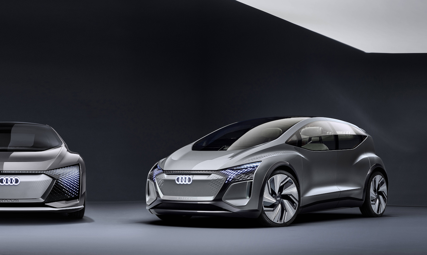 Der kompakte Audi der Zukunft: Das ist der Audi AI:ME 6