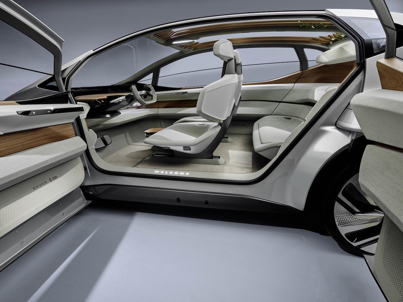 Der kompakte Audi der Zukunft: Das ist der Audi AI:ME 21