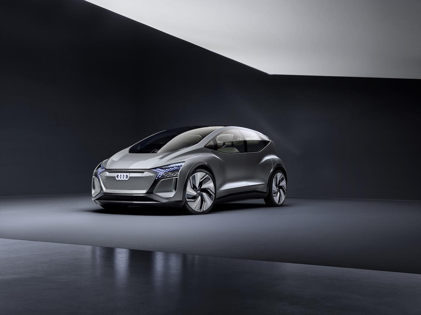 Der kompakte Audi der Zukunft: Das ist der Audi AI:ME 1