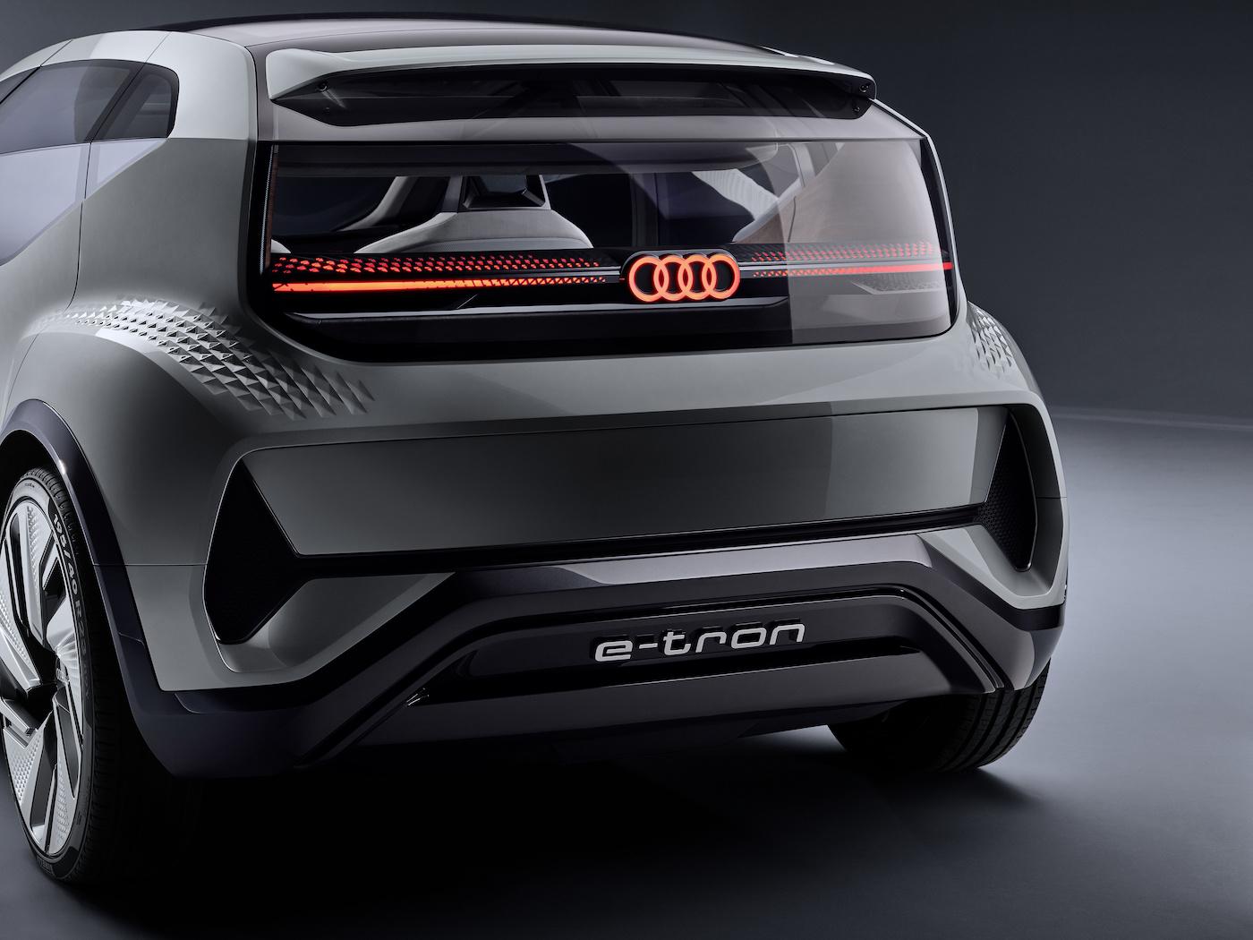 Der kompakte Audi der Zukunft: Das ist der Audi AI:ME 20