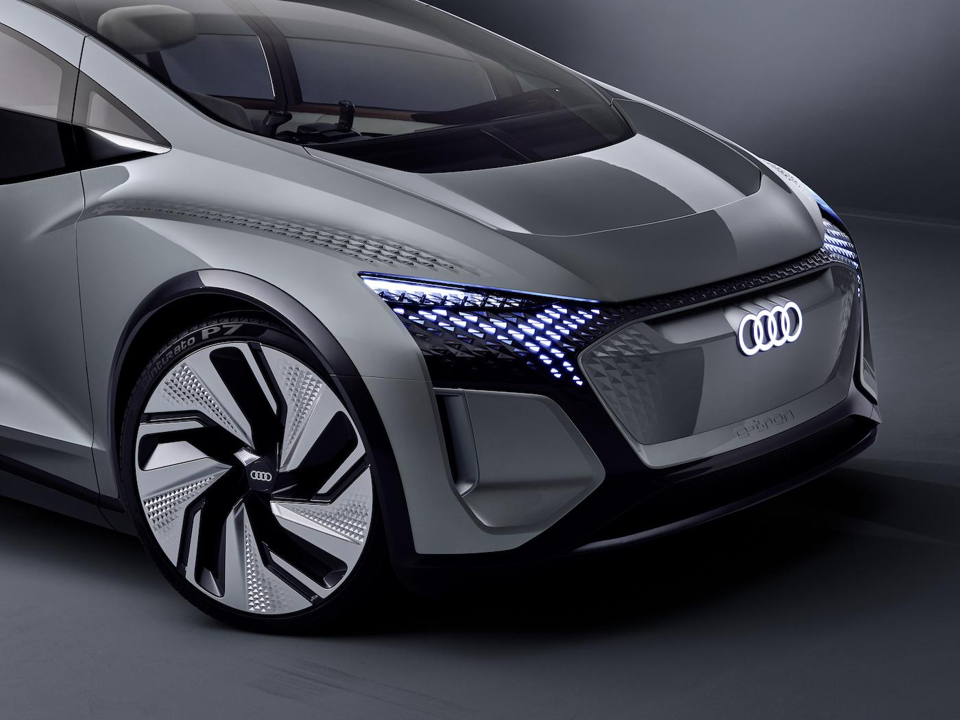 Der kompakte Audi der Zukunft: Das ist der Audi AI:ME 19