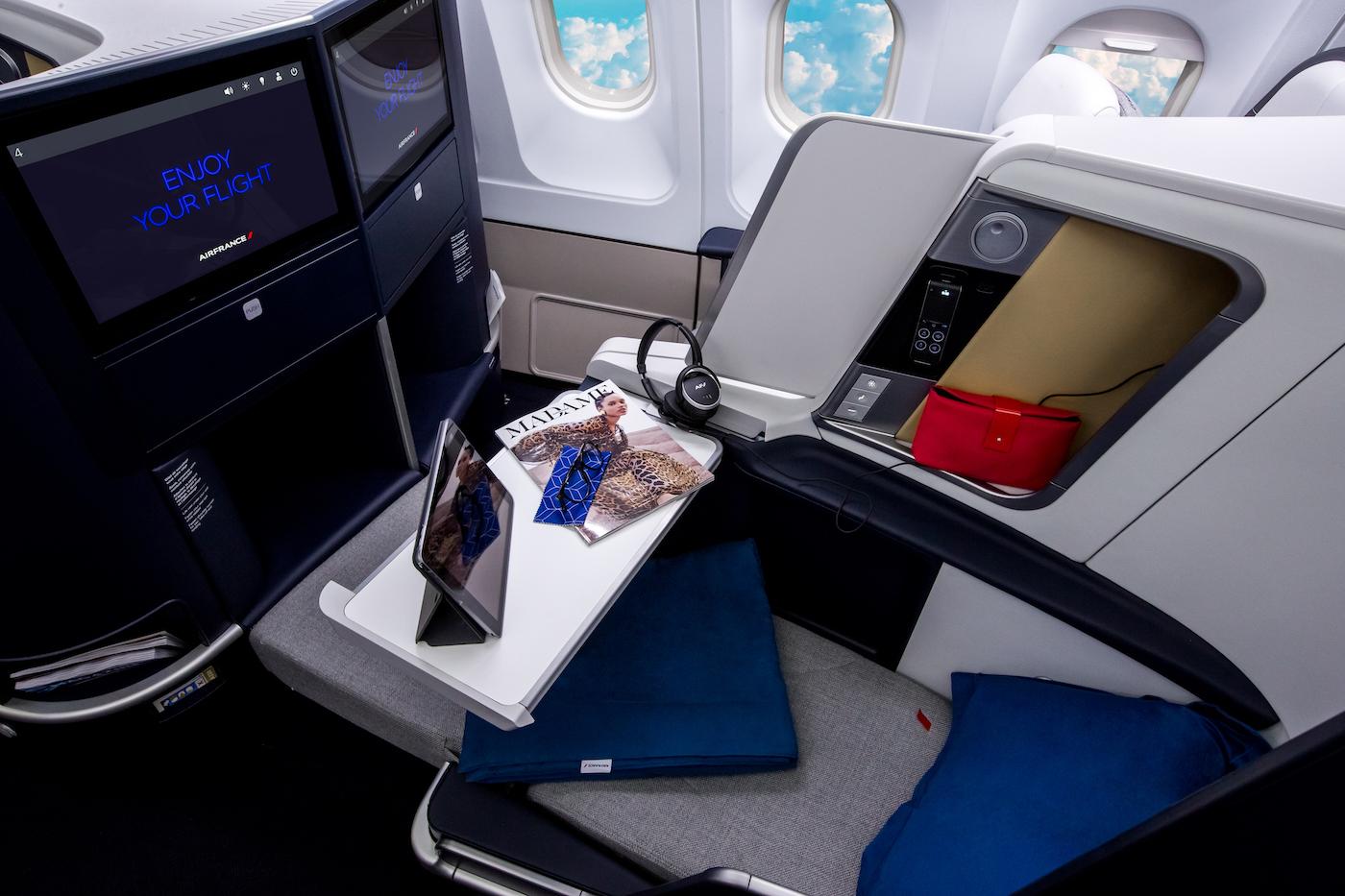 Air France präsentiert die neue Business Klasse im Airbus A330 1