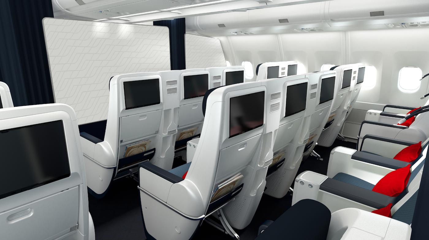 Air France präsentiert die neue Business Klasse im Airbus A330 9