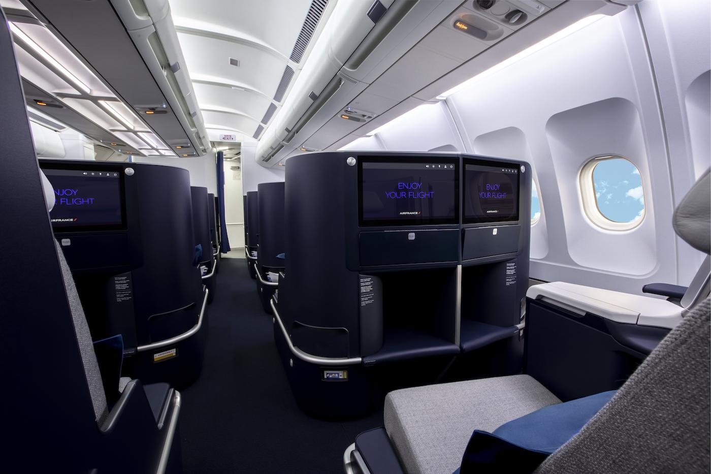 Air France präsentiert die neue Business Klasse im Airbus A330 2