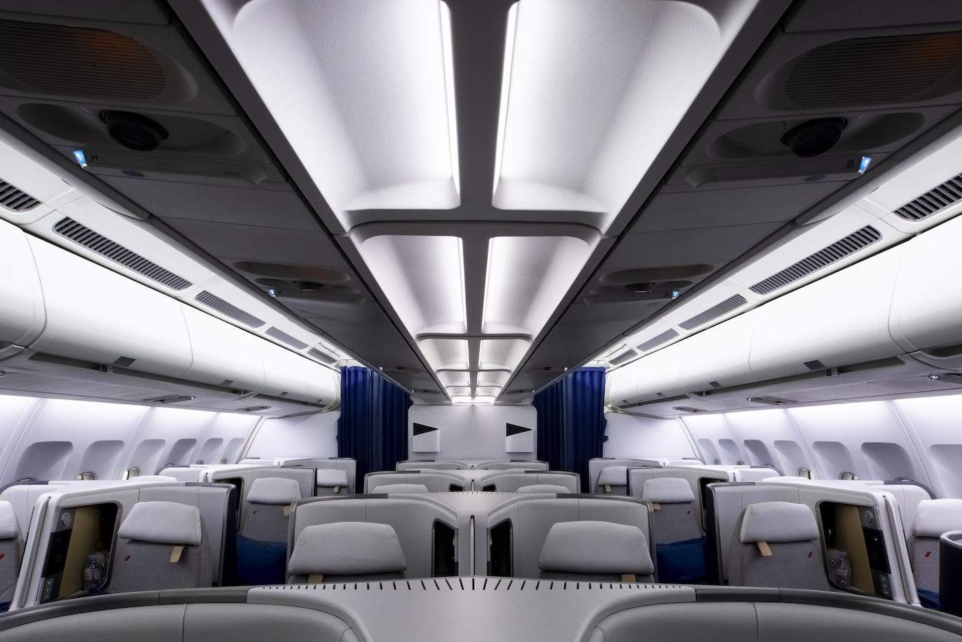 Air France präsentiert die neue Business Klasse im Airbus A330 3