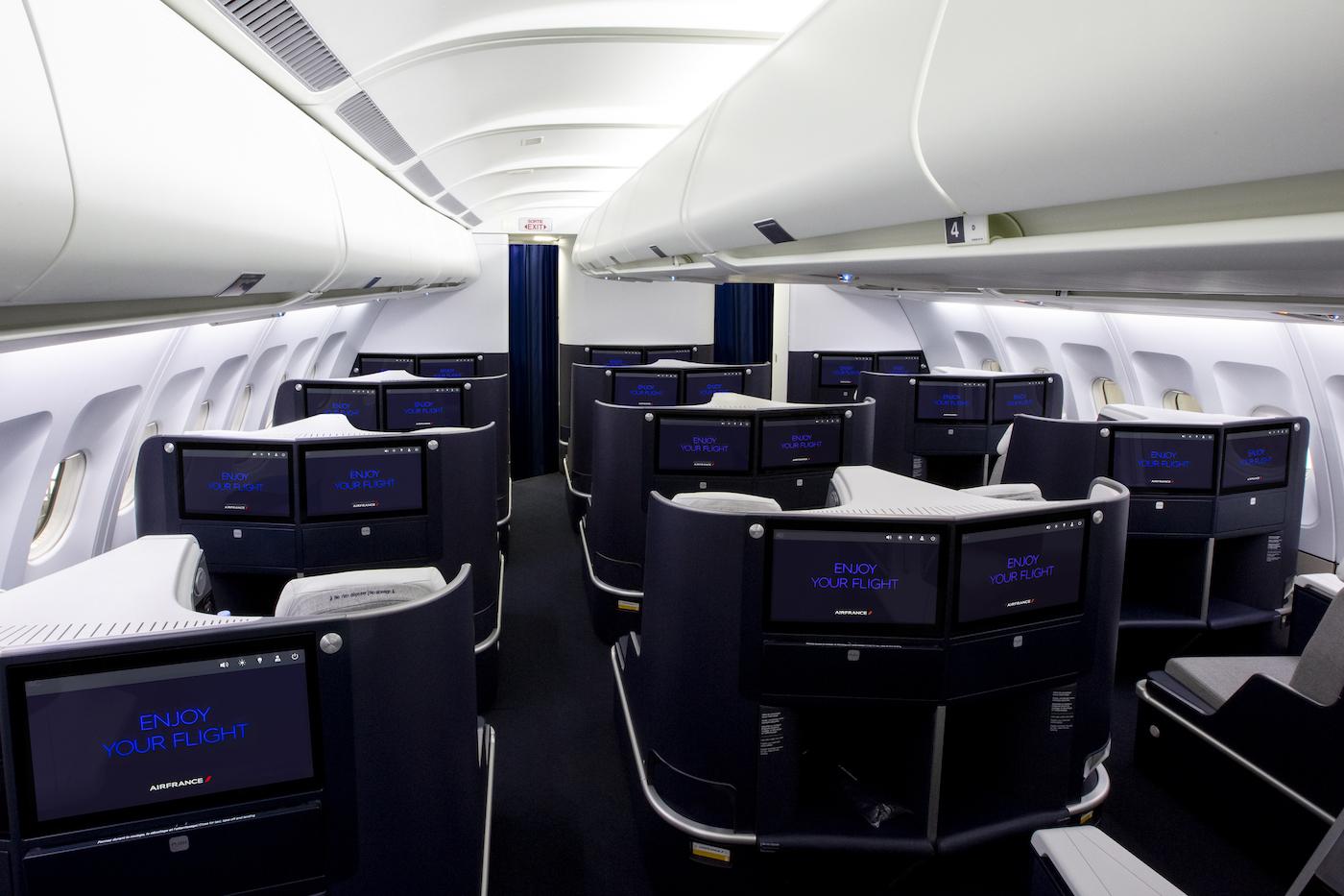 Air France präsentiert die neue Business Klasse im Airbus A330 5