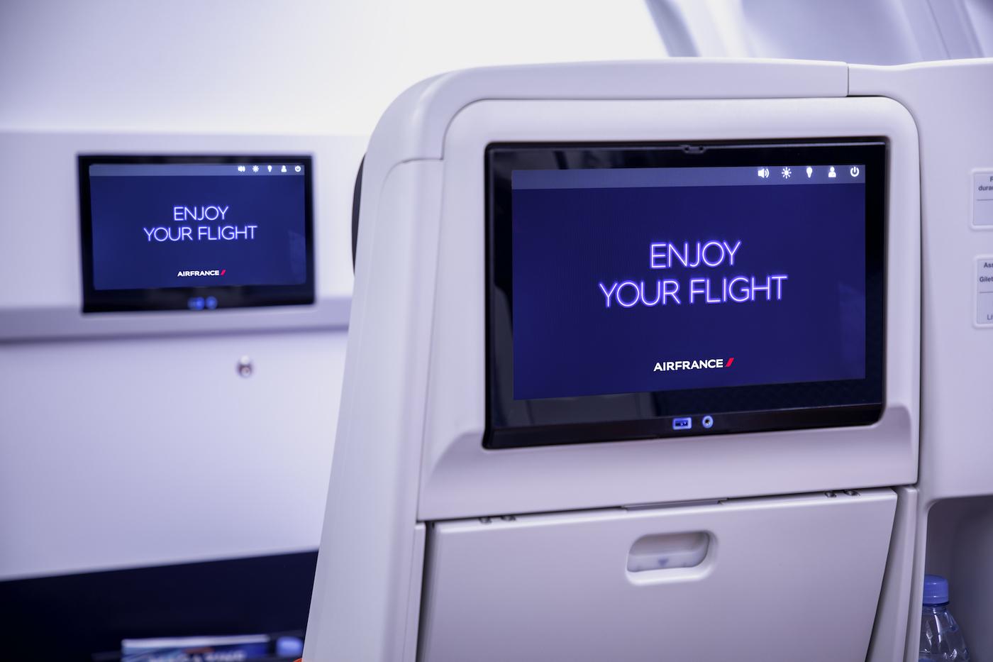 Air France präsentiert die neue Business Klasse im Airbus A330 7