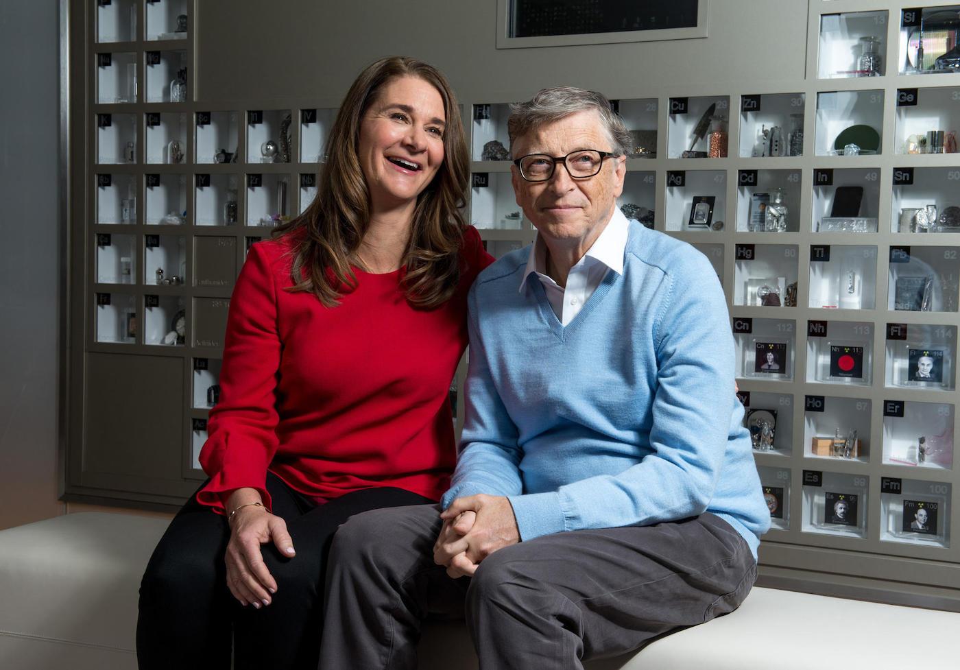 Relationship goals: Bill and Melinda Gates explain the algorithm of love to  us