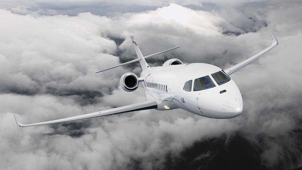 Der Dassault Aviation Falcon 6X: Dieser neue Business Jet kann nonstop von LA nach Genf fliegen 7