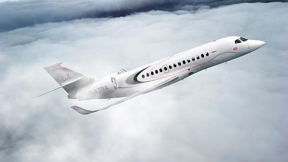Der Dassault Aviation Falcon 6X: Dieser neue Business Jet kann nonstop von LA nach Genf fliegen 9