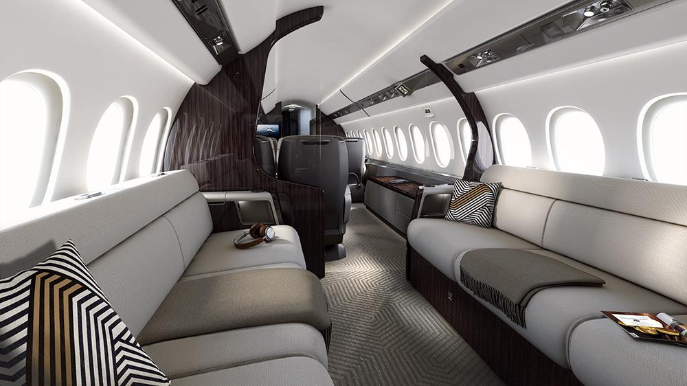 Der Dassault Aviation Falcon 6X: Dieser neue Business Jet kann nonstop von LA nach Genf fliegen 5