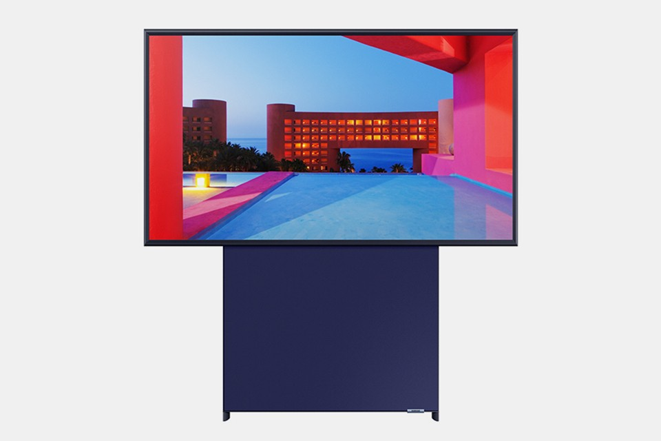 """Smart-TV: Samsung stellt hochkant Fernseher """"The Sero"""" vor 3"""