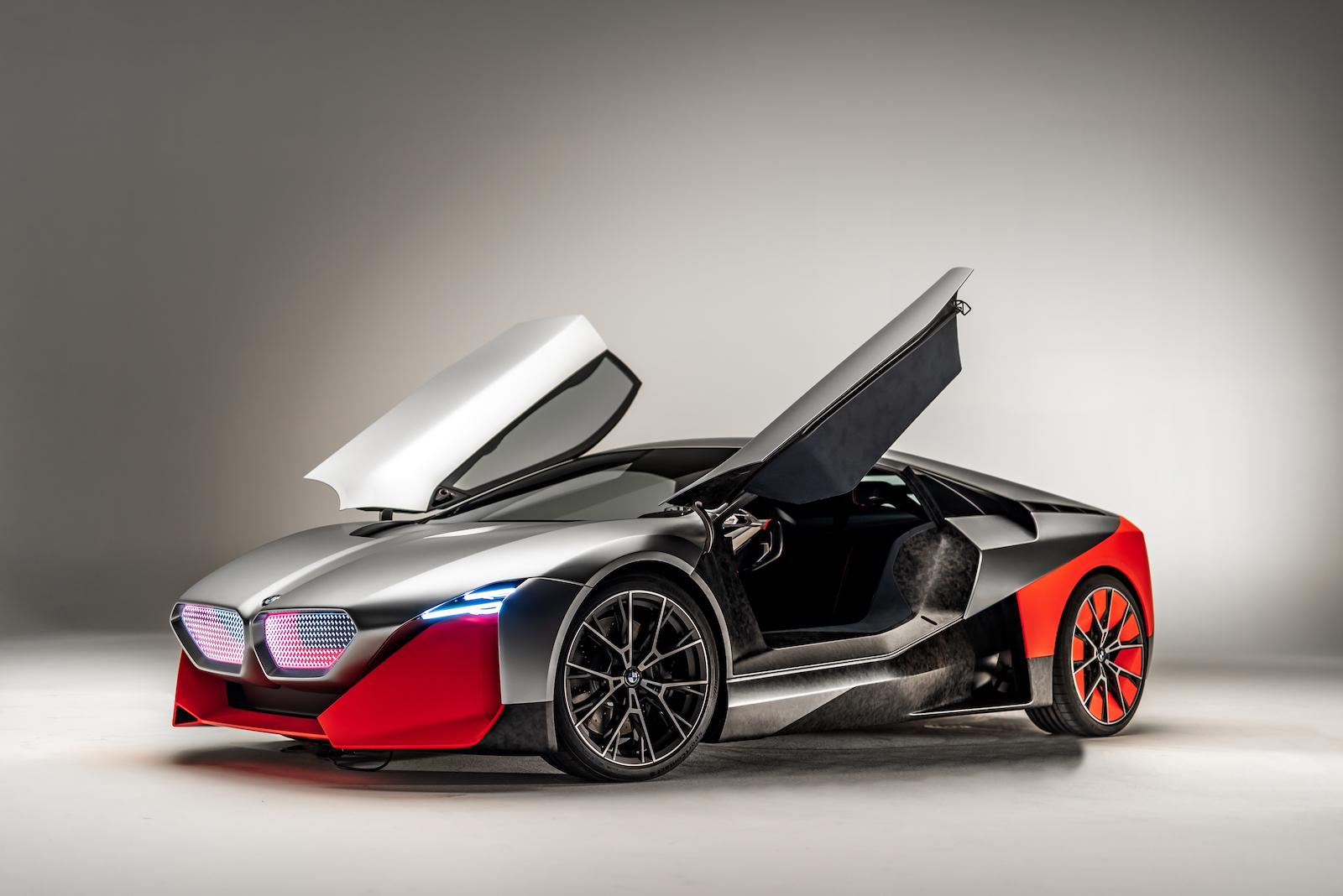 BMW Vision M Next: Ein Blick in die Zukunft des Automobils 1