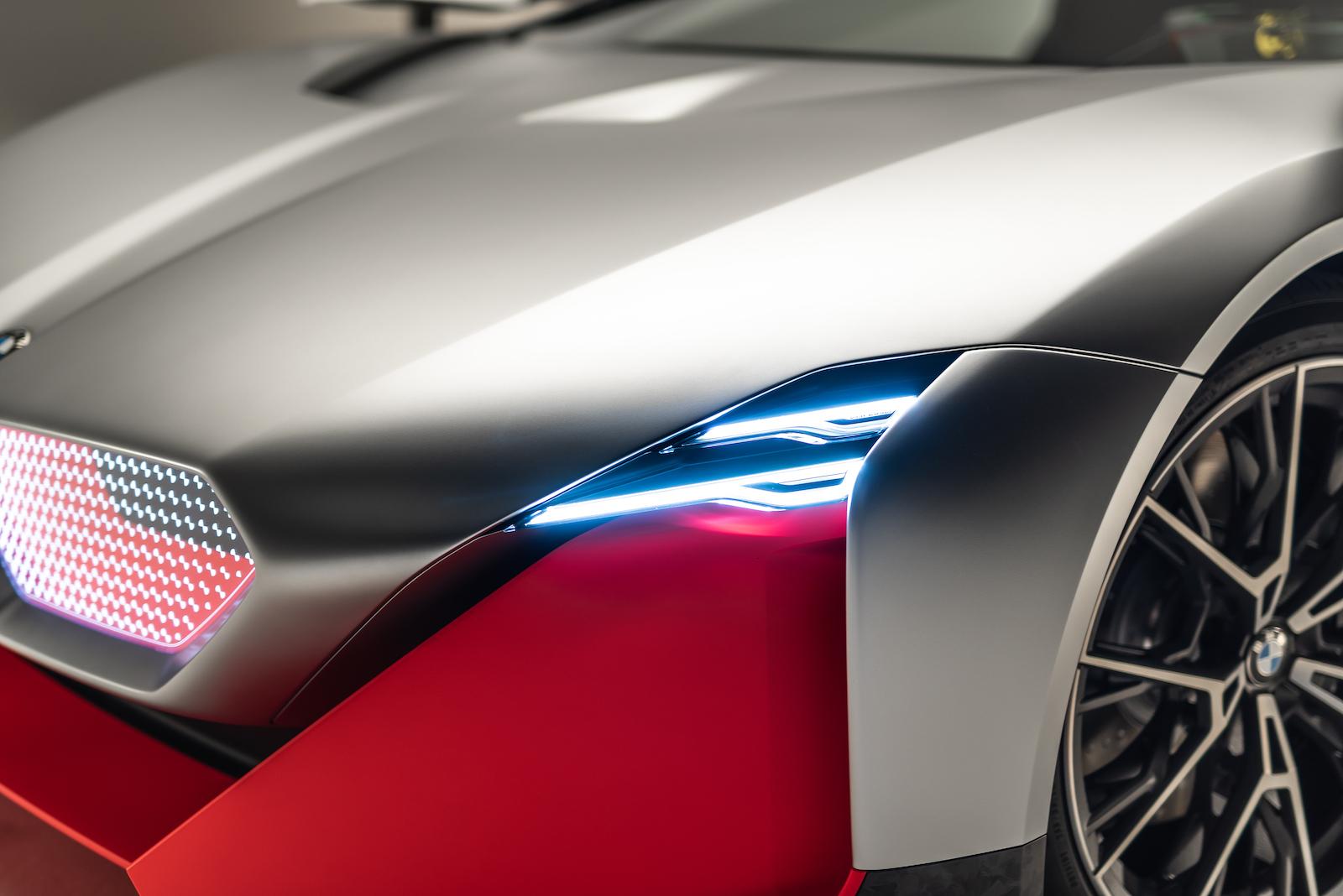 BMW Vision M Next: Ein Blick in die Zukunft des Automobils 4
