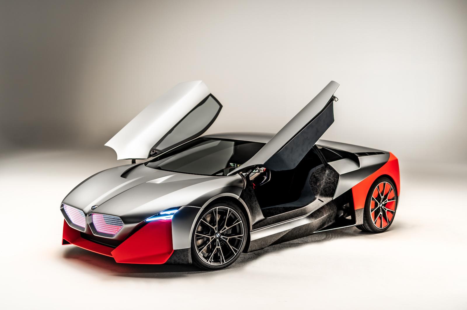 BMW Vision M Next: Ein Blick in die Zukunft des Automobils 12