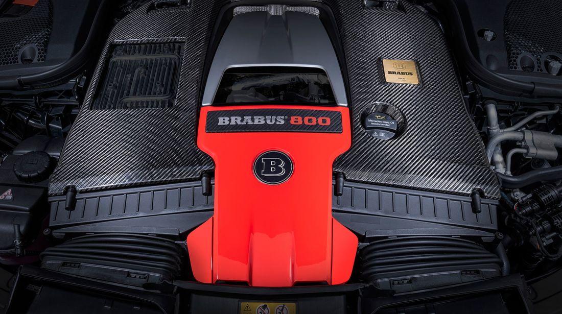 Der Brabus 800 auf Basis des Mercedes-AMG GT 63 S 4MATIC+ 14