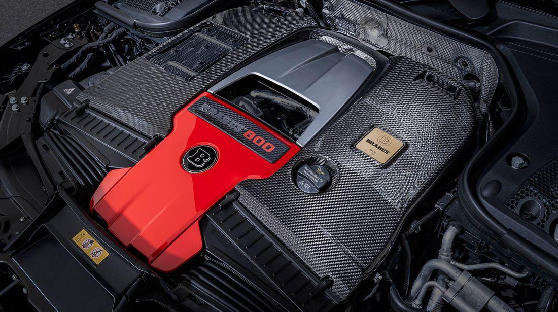 Der Brabus 800 auf Basis des Mercedes-AMG GT 63 S 4MATIC+ 12