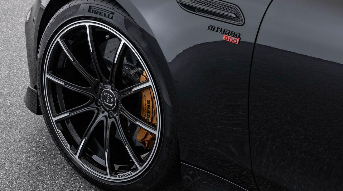 Der Brabus 800 auf Basis des Mercedes-AMG GT 63 S 4MATIC+ 6
