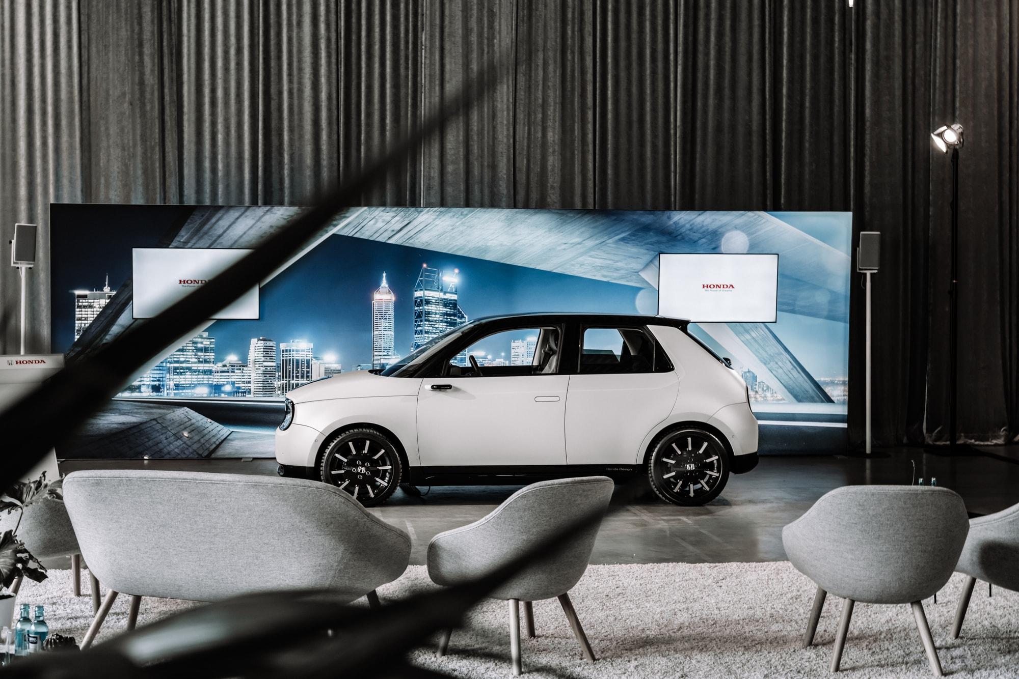Elektro trifft auf Retro: Der neue Honda E 1